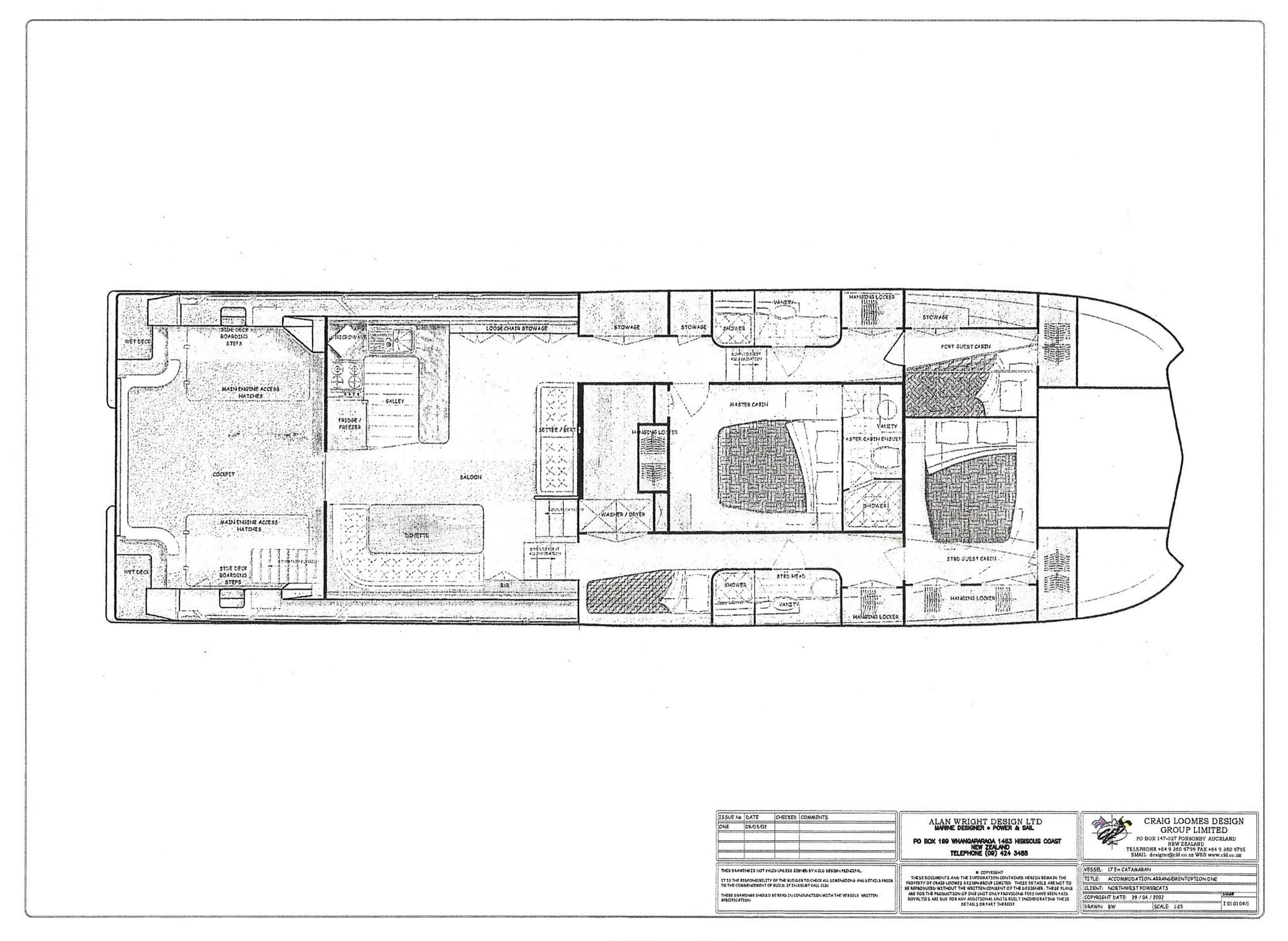 58ft plan lower layout