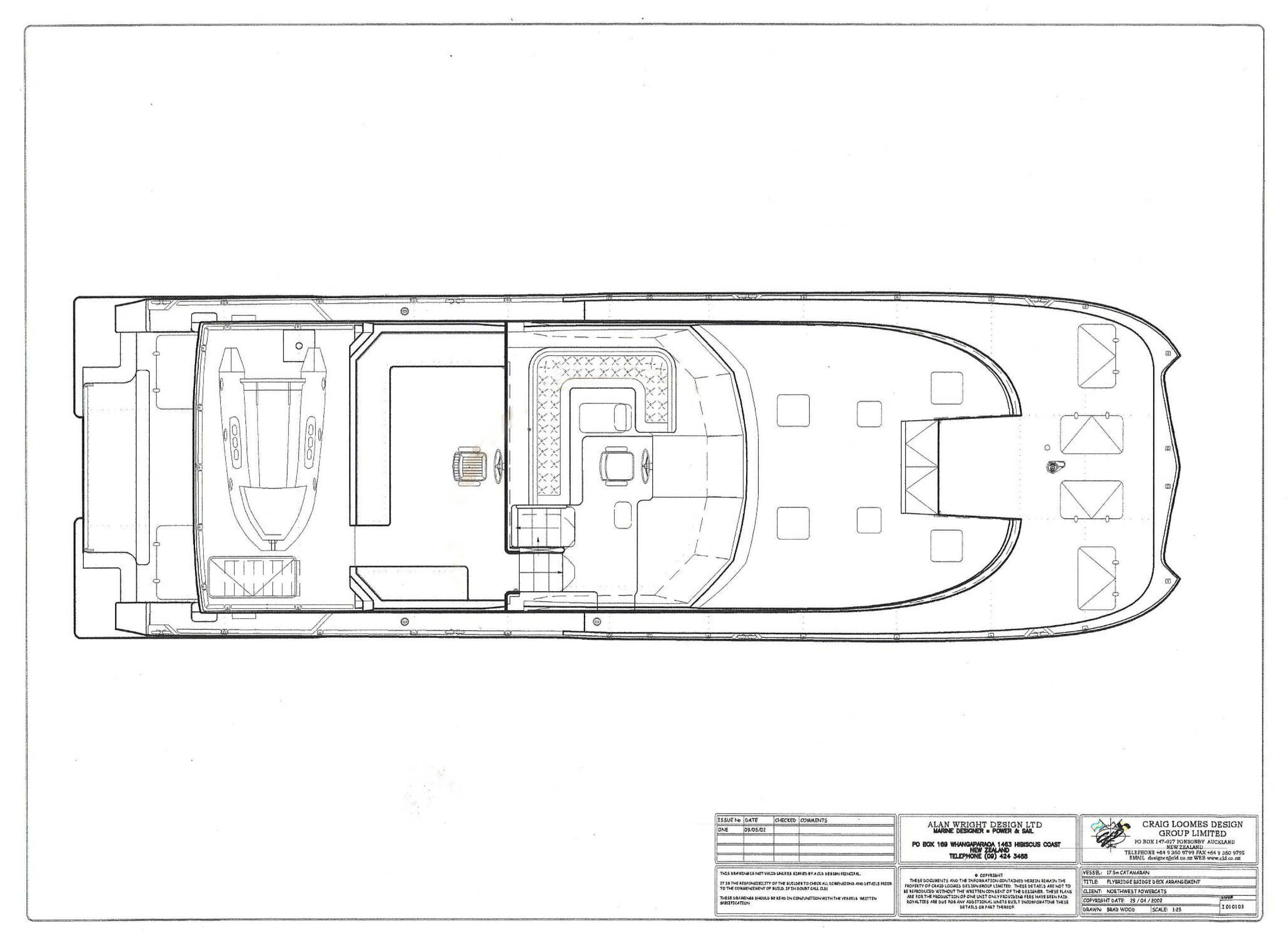 58ft plan upper layout